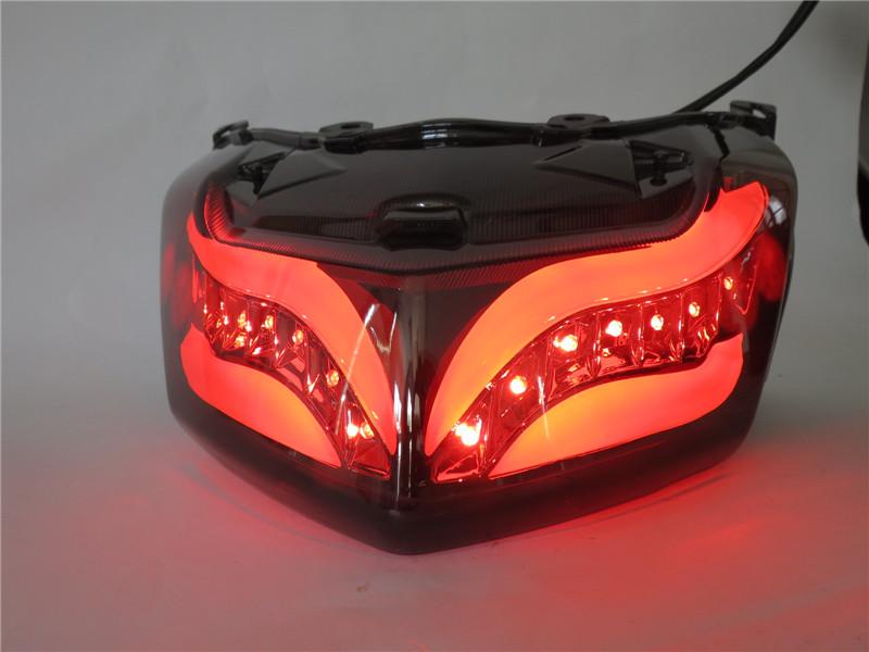 NMAX カスタム LEDテールウインカー内蔵 スモーク Bタイプ
