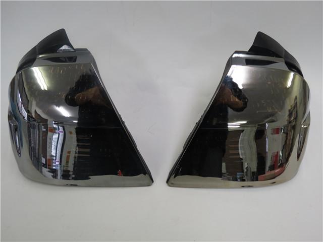 GL1800 ゴールドウイング SC47 01-05 ユーロ テール ブレーキ ライト ランプ サイドバッグ シルバー