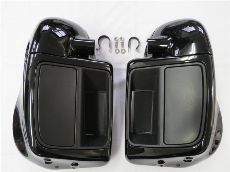 Harleyツーリング 6.5 スピーカーボックスポッド ロアーフェアリングキット 14-