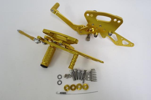 ニンジャ1000 Z1000 2011~2016 ABS 調整式バックステップセット CNC 金