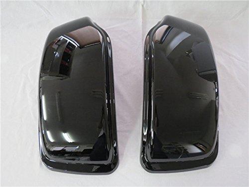 Harley Davidson XL 883 1200 サドルバック リード蓋のみ 補修用  左右セット ブラック 塗装済