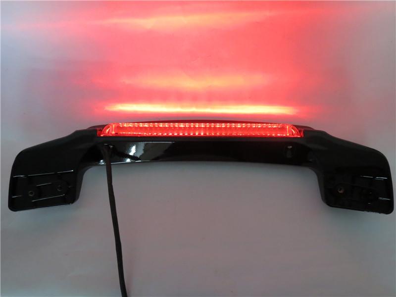 harley ハーレー LED ツアーパック リッドスポイラー 黒