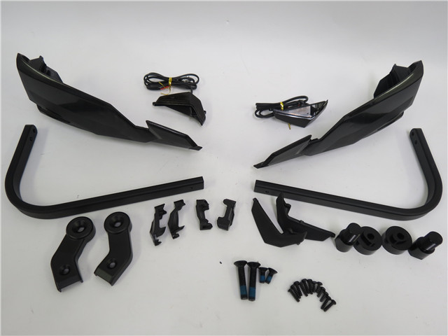 ナックルガード ハンドガードLEDウィンカー MT-07 MT-09 XT1200Z XJR1300 XSR700 MT125