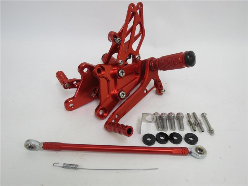 CNC 調整式 HONDA VFR400 NC30 RVF400 NC35 バックステップ赤