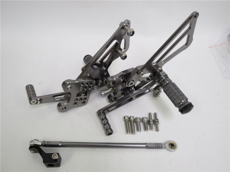 CNC 調整式 ZX-14R / ABS 2012-2016 バックステップ 灰