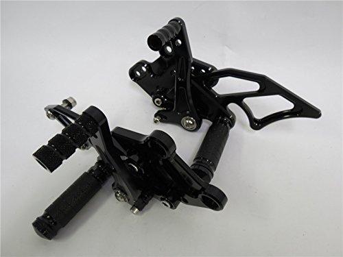 NINJA250 NINJA300 EX250L 2013年~ EX300 調整式バックステップセット CNC 黒Bタイプ