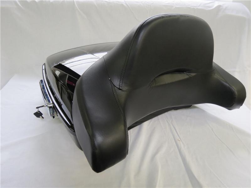 harley ツーリング RAZOR レザー ツアーパック 2014- 薄型バックレストあり