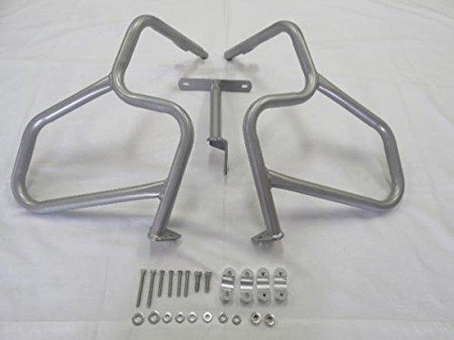 BMW R1200GS R 1200 13-15 フロントエンジンガード シルバー a17
