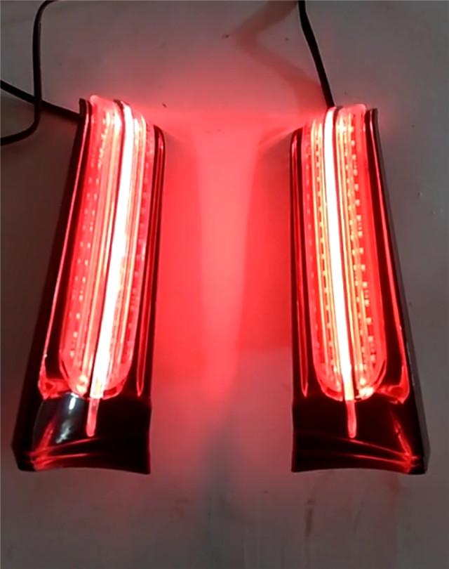 LED ライトフィラーパネル 2014- Harley-Davidson Ultra, Road King ウィンカー付き(流れタイプ)