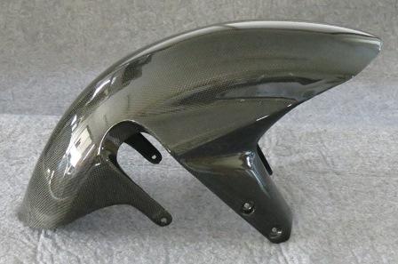 gsxr1000 03-04年 gsxr750/600 04-05年 カーボン フロントフェンダー