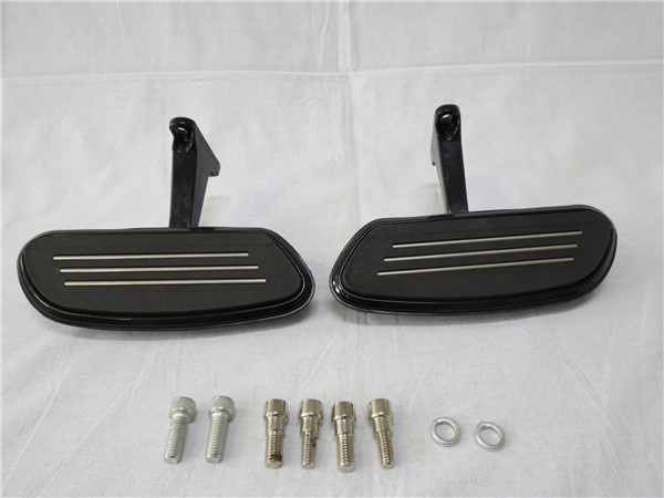 harley ハーレー ツーリングモデル パッセンジャーフットボード 黒