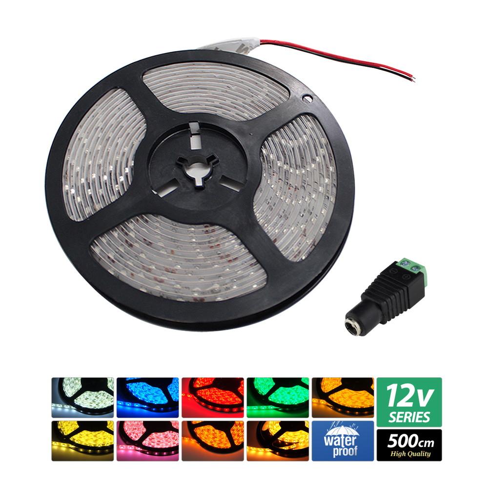 日本未入荷 【ハイクオリティ 単体】防水 (100V/12V兼用) LEDインテリアテープライト 1チップ 1チップ 単体 (100V/12V兼用) 500cm, 塩尻市:4bad3252 --- construart30.dominiotemporario.com