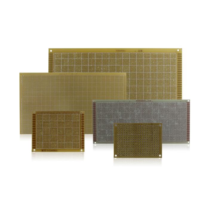 Kaito7001(500枚) 片面ガラスエポキシ・ユニバーサル基板 50x70mm
