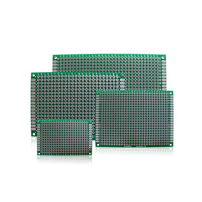 Kaito7056(100枚) 両面スルーホール ガラスエポキシ 高品位基板 70x90mm
