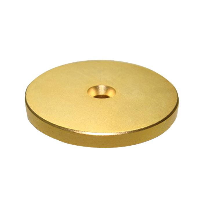 Kaito7104(50個) 強力ネオジム磁石 金メッキ 45×8×6×5mm