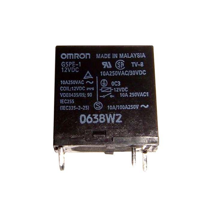 Kaito7472(500個) リレー 12VDC G5PE-1 [OMRON]