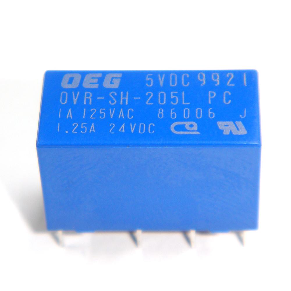 Kaito7693(100個) リレー 5VDC OVR-SH-205L 1A [TE Connectivity:OEG]