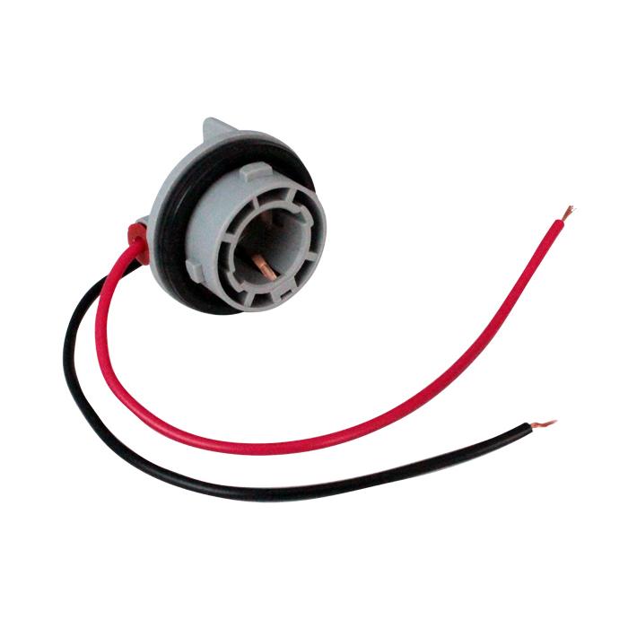 Kaito5954(50個) S25(BA15s) 2端子 シングルソケット 防水