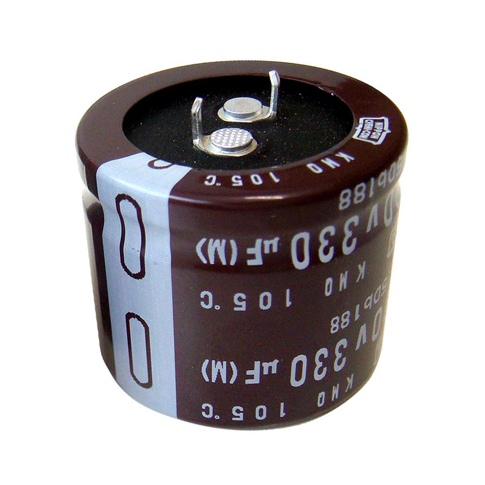 Kaito7237(500個) 電解コンデンサー 400V 330uF (NIPPON CHEMI-CON) 30×35