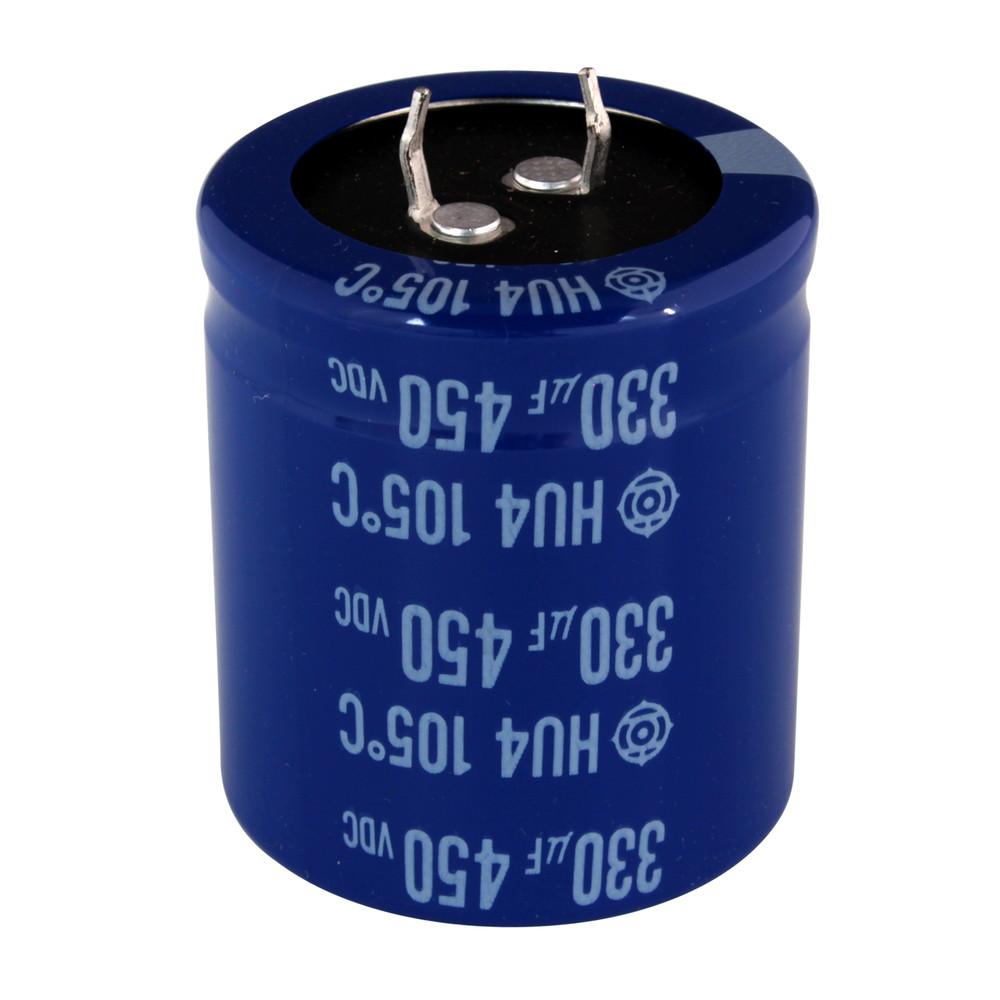 Kaito7442(100個) 電解コンデンサー 450V 330uF HU42W331MRA [HITACHI]