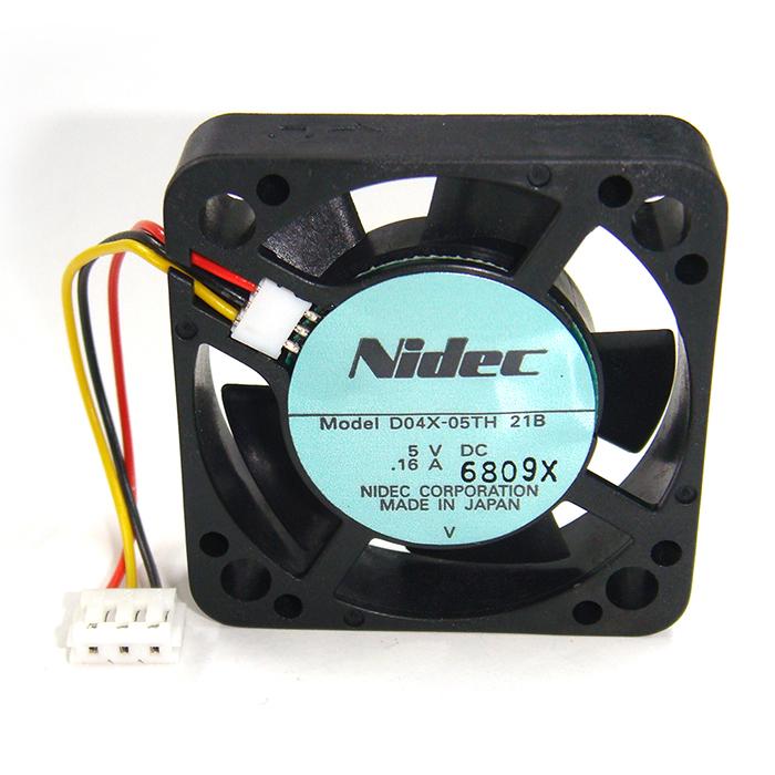 D04X-05TH-21B(100個) 冷却ファン D04X-05TH-21B 5V/0.16A [NIDEC]