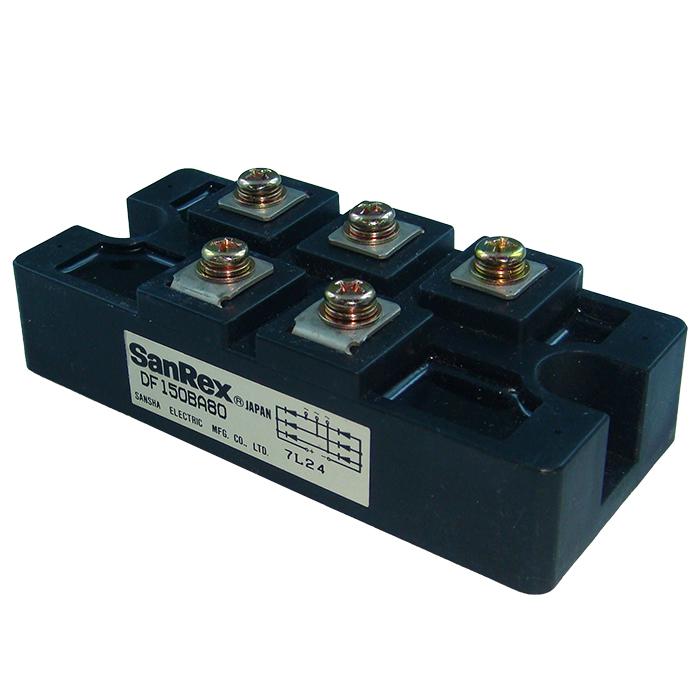 DF150BA80 (1個) パワーダイオードモジュール SanRex 【中古】