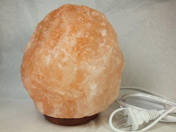 ■龍香堂■☆珍品!ヒマラヤ岩塩ランプ165mm