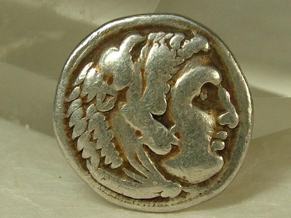 ■龍香堂■☆本物!古代ギリシャ アンティークコイン(s3)