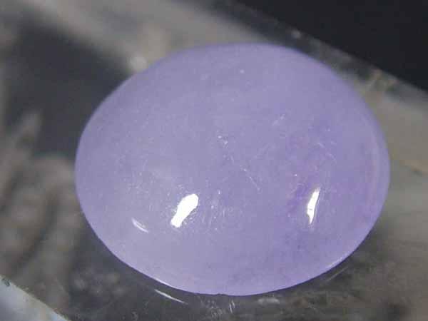 淡紫色が綺麗な メーカー直売 ■龍香堂■☆ミャンマーラベンダー翡翠ルース 卸直営 14mm