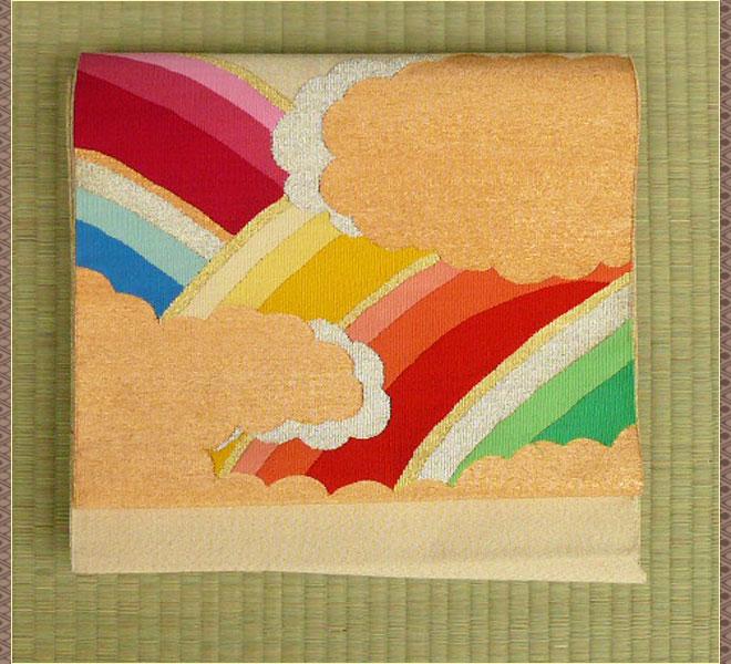 名古屋帯 正絹 リサイクル 綴織