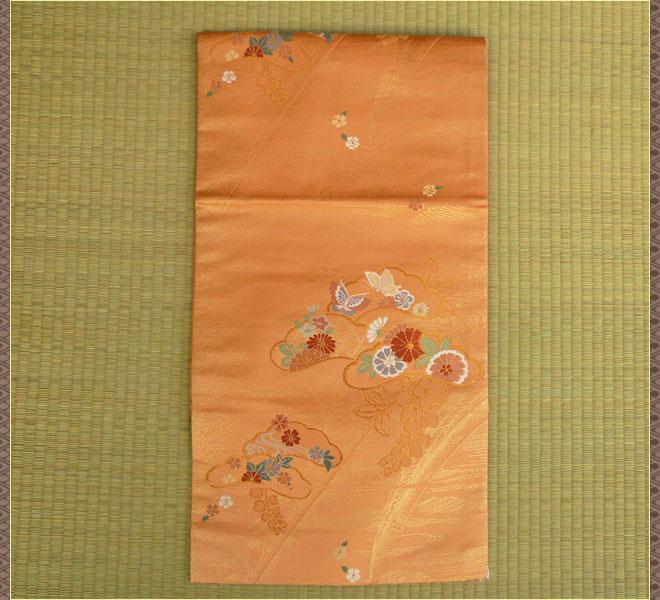 袋名古屋帯 正絹 リサイクル フォーマル