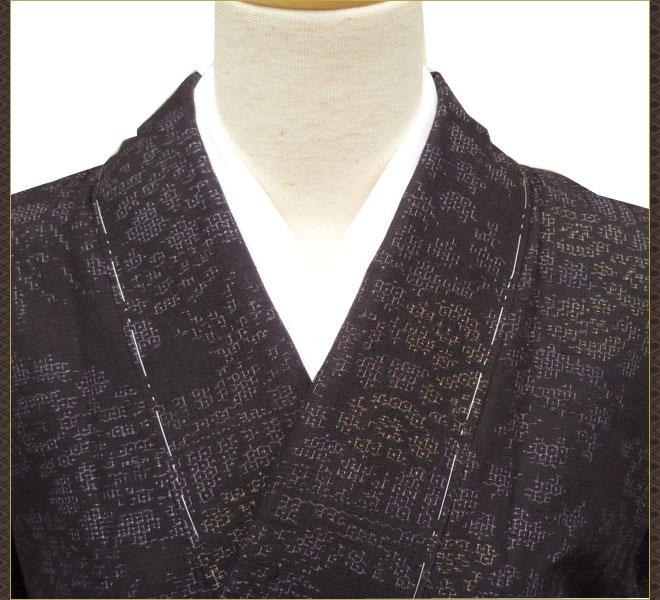 着物 セット はたおり娘 結城紬 名古屋帯 正絹 中古着物 リサイクル着物 アンティーク着物