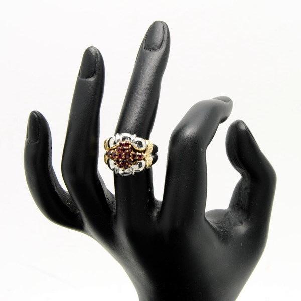 ♪リング 指輪♪ Pt900K18/ルビーR1.25 ダイヤD0.08/#13.5 【JR869】【税込価格】【質屋出店】【中古】【あす楽対応】