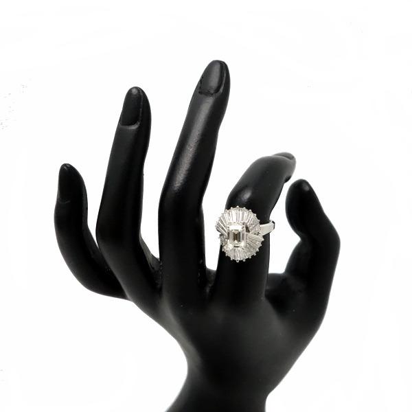 ♪リング 指輪♪ Pm900/ダイヤD1,246 D1,76/#13 【JR1528】【税込価格】【質屋出店】【中古】【あす楽対応】