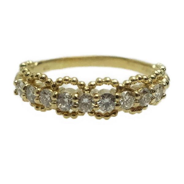♪リング 指輪♪ K18YG/ダイヤD0,33/#10 【JR1594】【税込価格】【質屋出店】【中古】【あす楽対応】
