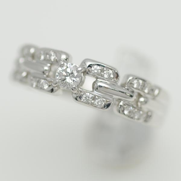 ♪リング 指輪♪ Pt900/ダイヤD0,24/田崎/#15 【JR1635】【税込価格】【質屋出店】【中古】【あす楽対応】