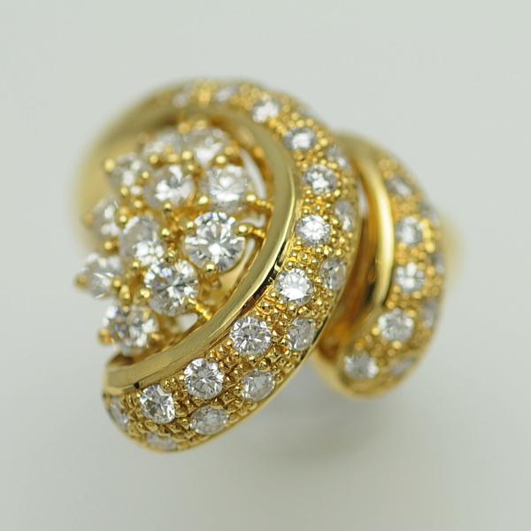 ♪リング 指輪♪ K18/ダイヤD1,50/#12 【JR1181】【税込価格】【質屋出店】【中古】【あす楽対応】