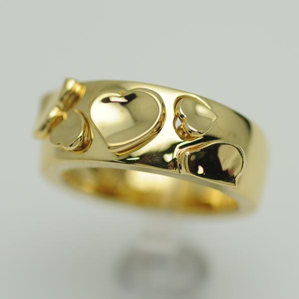 ♪リング 指輪♪ K18/イノーヴェ/ハート/#11 【JR1483】【税込価格】【質屋出店】【中古】【あす楽対応】