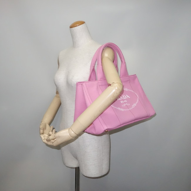 230b5dd24b87 メーカー名: プラダ商 品 名: トートバッグ カナパ キャンバス ピンク型 番: B1877B サ イ ズ: 35×22×22