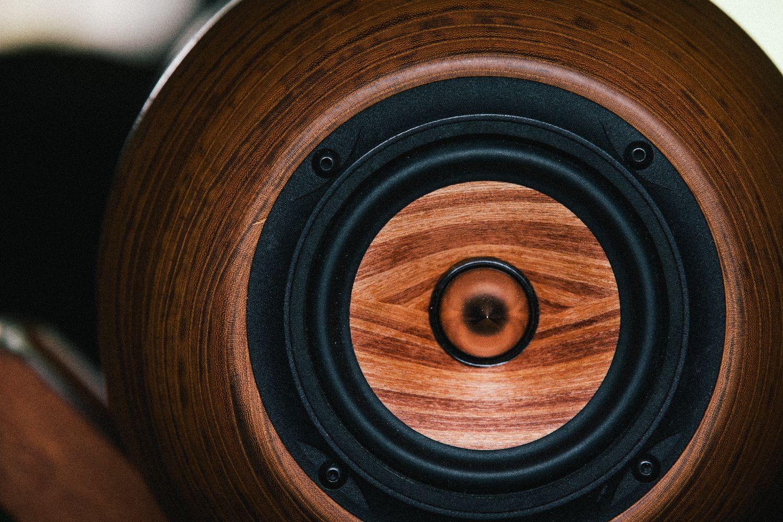 ハイレゾ音源のための空間表現 【回折型スピーカー】 【音蔵 F-10S01W】欅 ペア