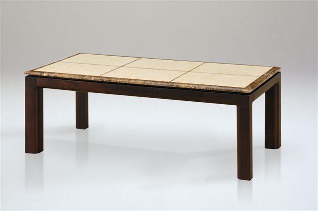 【送料無料】大理石のセンターテーブル120