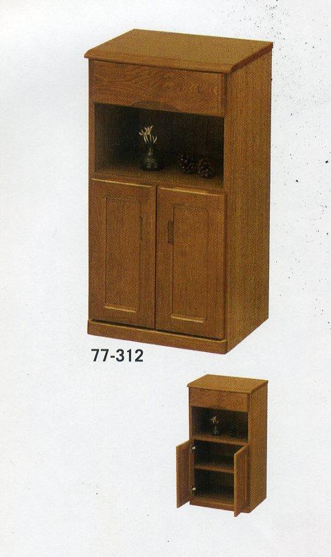 タモFAX台44幅2D1H
