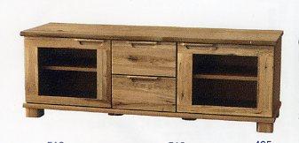 ナラ天然木のTVボード165幅