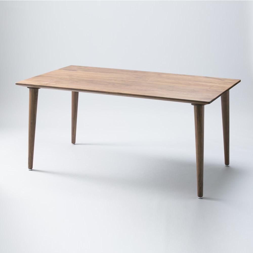 【送料無料】150ダイニングテーブルB ETHICA ウォールナット無垢 久和屋