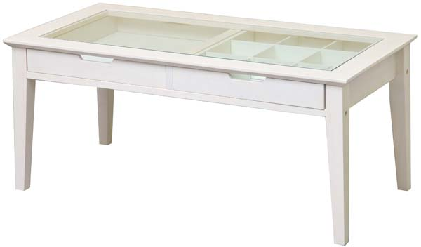 【市場】INT-2576WHine reno Table-アイネテーブル LivingItem (W900×D450×H400mm)【smtb-TK】