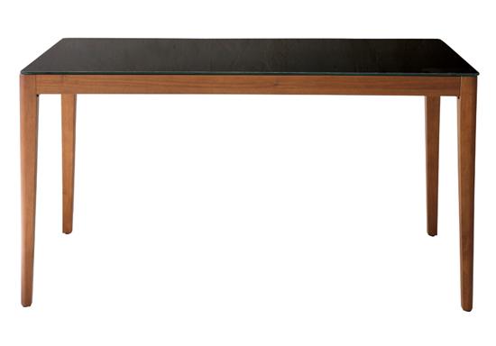 ダイニングテーブル WITHウイズ GDT-7680 (W1500×D800×H720)天板:6mm厚強化ガラス(飛散防止フィルム加工)天板耐荷重30kg【組立】【送料無料】
