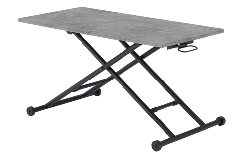 リフティングテーブル モルテロ RLT-4545 (W1130×D550×H110~700mm)天板サイズ:W1100×D480天板耐荷重15kg【完成品】【送料無料】