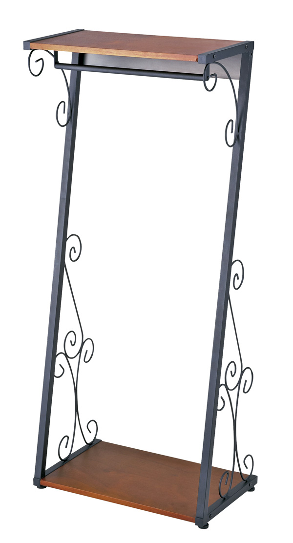 DelSolシリーズ ブテックハンガー(DS-HS1400):W60×D36×H140 組立 アジャスター付