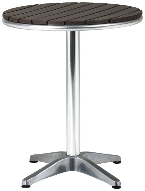 ラウンドテーブル ガーデンテーブル アルミテーブル(AL-P60RT) Ф600×H725 【送料無料】【smtb-TK】