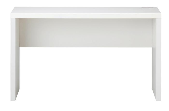 白を基調にしてシンプルなSOHOデスク(RS-D8650)ホワイト W1200×D450×H715mm【送料無料】【smtb-TK】